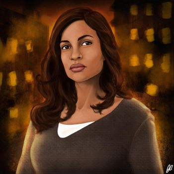 Rosario Dawson, as Claire Temple by GCnotPD