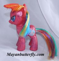 Faxy G4 Fim Custom My Little Pony by mayanbutterfly