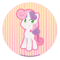 MLP: Sweetie Belle by DatPonyPL