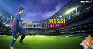 New Design .. Lionel Messi* by MohamedEssawyDesign