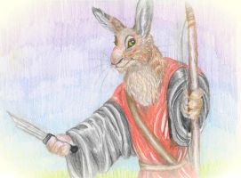Warrior Hare by Professor-R