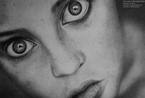 Freckled Girl by farzad119