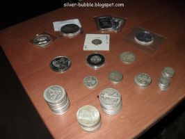 After Doing Silver Coin Inventory by Miss-Merlina