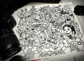 Doodle: A Photographer by lei-melendres
