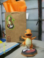 charmander papercraft by rafex17