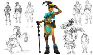 Character Design Class: Adventurer by TheRagingSpaniard