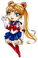 Chibi Sailor Moon by Ranefea