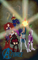 A-Force Assemble! by Lightengale