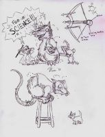 Twitch Sketch Dump by magefeathers