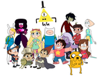Favorite Characters by Kerco