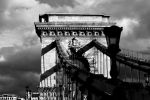 Chain Bridge BW by jmotes