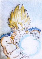 Son Goku of Dragonball Z by soulblade35