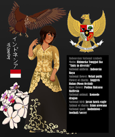 APH -Indonesia's national symbols by MariaJHB