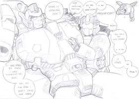 Springer And First Aid Sketch by prisonsuit-rabbitman