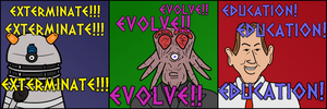 The Evoloution of the Daleks by Hennell