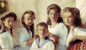 Imperial Children of Russia by Livadialilacs