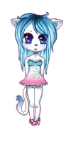 Dahlia Pixel Chibi by AncientDivina