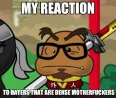 Put this on your page, to keep the haters away by Realangrybirdplush