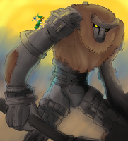 Legend of the Colossus -REDRAWN- by Chaos-Blue