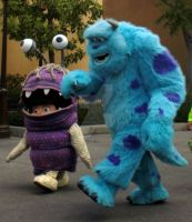 Sulley and Boo by belle951