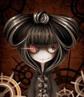 Robot doll. by Meammy