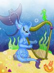 Aqua Harp by QueenDanny