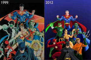 The big seven 13 years later by El-Mono-Cromatico