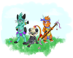 The Poke Tribe! by GhostKoMochi