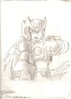 zero from megaman by forgot-to-be-human2