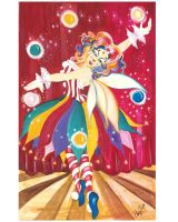 The Clown Fairy by daydreamerart