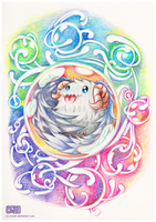 Poro in a Bubble by CloudN