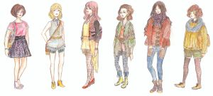 clothes collection by Ayayou