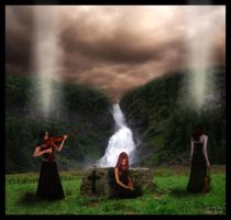 Violin Funeral by PaiVerde