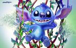 Hello Stitch by alteredteddybear