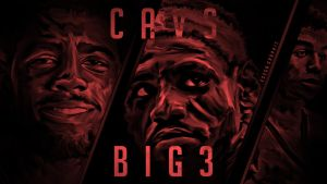 Cleveland Cavs BIG3 Digital Painting Wallpaper by EsegaGraphic