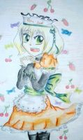 Contest entry:Yuina Nori in a maid outfit: by TearOfARose
