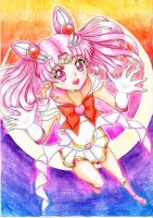 Sailor Chibi Moon by Draconine