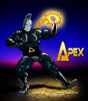 Apex fanart coloring by GraphicBrat