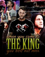 CM Punk 'The King' by NPunkDesigns