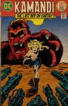 Kamandi colored cover by ArtNomad