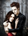 Bella and Edward vamp TWILIGHT by Shellen