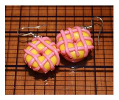 Lemon Strawberry Iced Donuts by bettenoir87
