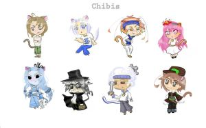IME chibi's by Zann-lovecraft