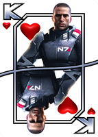 Shepard - King Of Hearts by NoAng3l