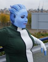 Liara T'soni - Mass Effect 2 by Sakara-Siluria