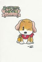 Harvest Moon Puppy by Soniclover3