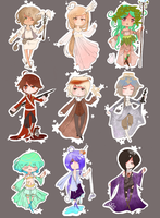 Solar System Adoptables [1Open] by VictorianOlive