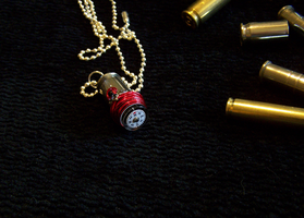 Compass Bullet Pendant by mymysticgems