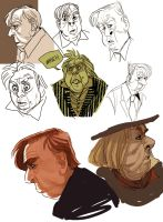 SPALL Studies by mr-book-faced