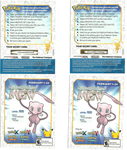 Mew Code Cards by DivineDesserts